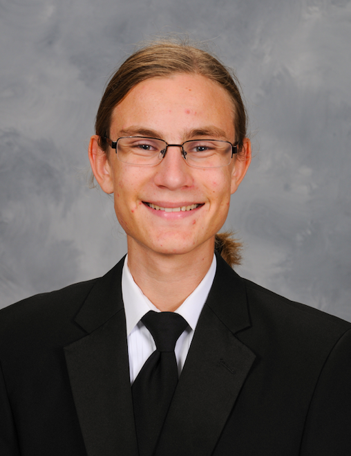 : Johnny Dollard, top-ranked senior and valedictorian for the Class of 2020.