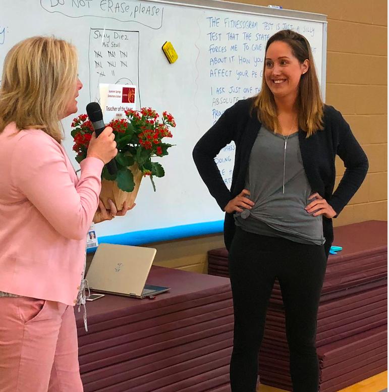 : Sycamore Springs Elementary School Teacher Shay Diez is in her 12th year of teaching.