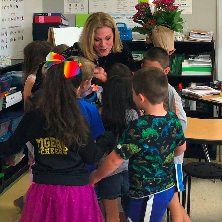 Candy Rowen is in her third year teaching at Rooster Springs Elementary.