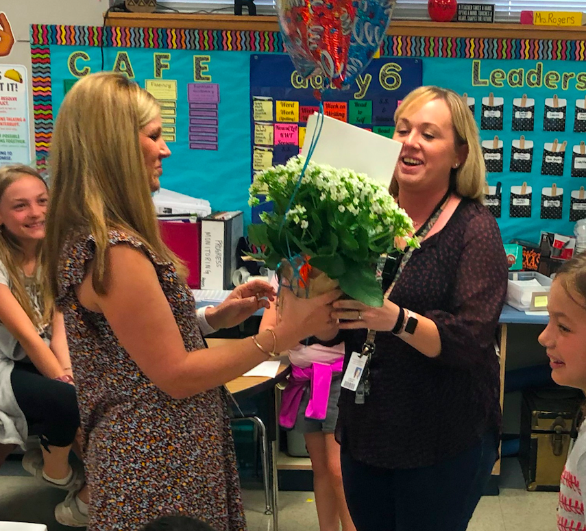 Caroline Rogers is in her 11th year at  Dripping Springs Elementary, which is where she has spent her entire teaching career.