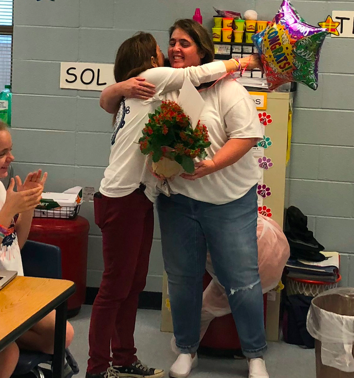 Veteran teacher Denise Thomas has spent nearly half of her career – 12 years – in Dripping Springs ISD and at Walnut Springs Elementary.