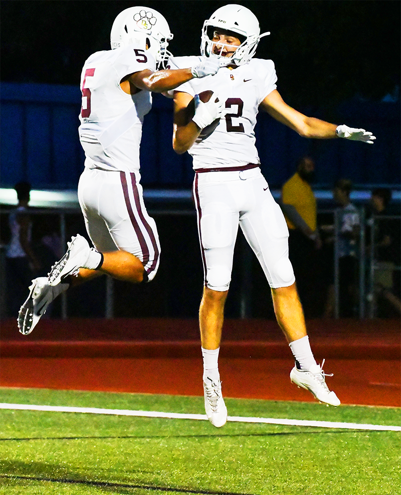 GAME NIGHT: Dripping Springs High School touchdown 9-7-18