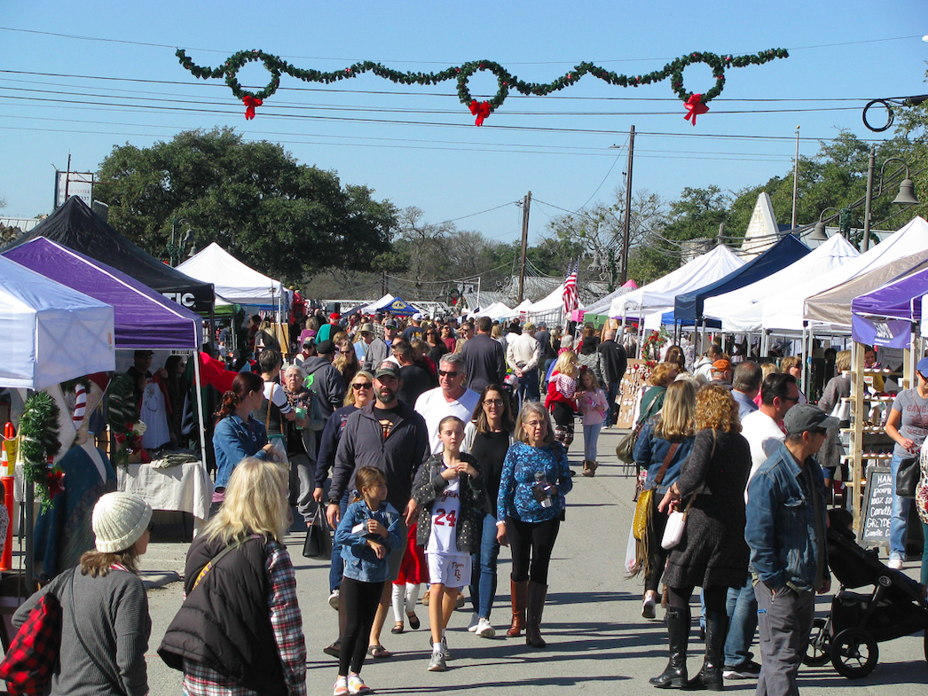 Photo taken during the Christmas on Mercer event in Dripping Springs, Saturday, December 7th, 2019. Photo by Jacob Steffen.