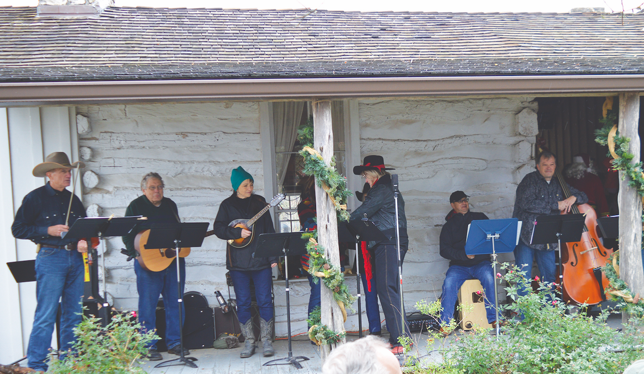 Songs from the 1800s entertained the crowd.
