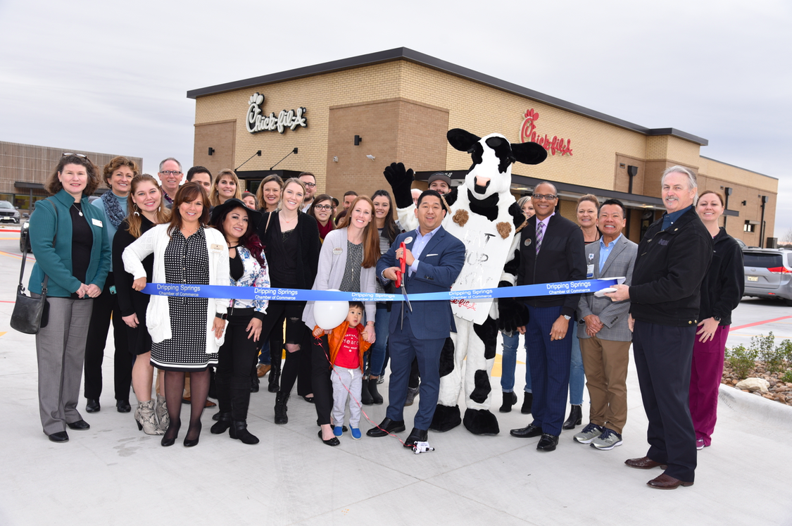 Dripping Springs Chamber of Commerce Ribbon Cutting
