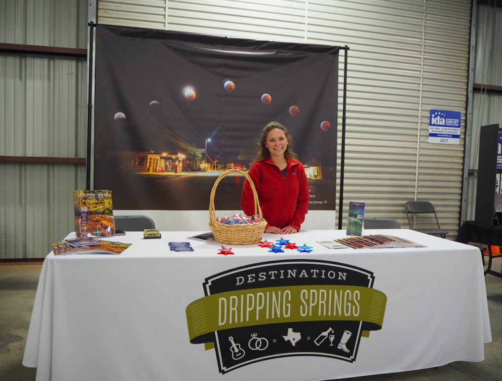 Hope Boatright, Communication/Marketing Specialist for the Visitors Bureau, answered questions about the new Dripping With Taste passport program and tourism.